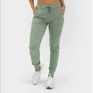 Select Jogger- Heather Moss